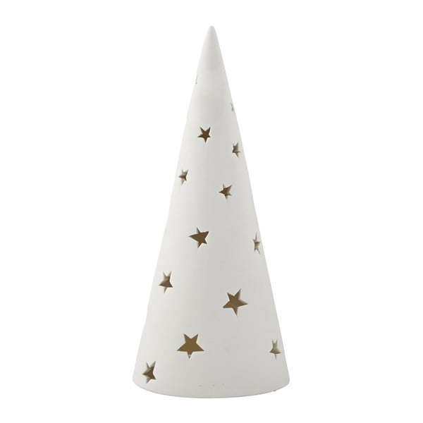 Svietnik KJ Collection Tealight Holder Tree White, 28,5 cm