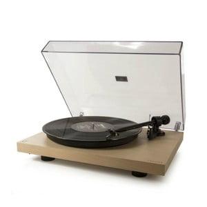Béžový gramofón Crosley C10