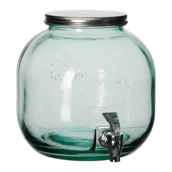 Sklenený barel Drink Mint
