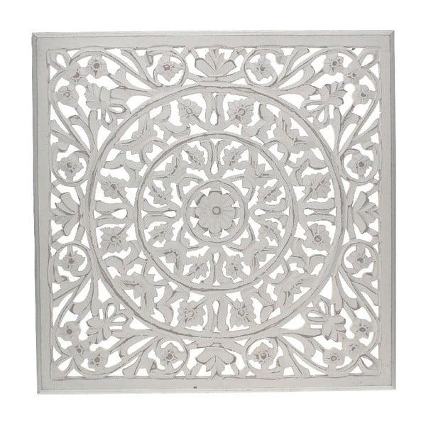 Nástenná dekorácia White Washed, 58x58 cm