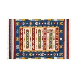 Ručne tkaný koberec Kilim Dalush 004, 90x60 cm