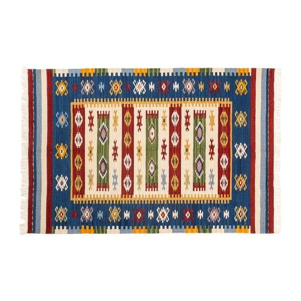 Ručne tkaný koberec Kilim Dalush 204, 150x90 cm