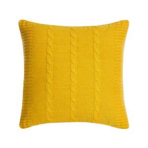 Vankúš s výplňou Fancy Yellow, 43x43 cm
