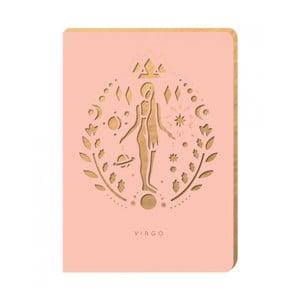 Linajkový zápisník Portico Designs Panna, 160stránok