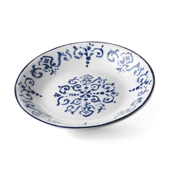 Hlboký servírovací tanier Antico Blue, 29 cm