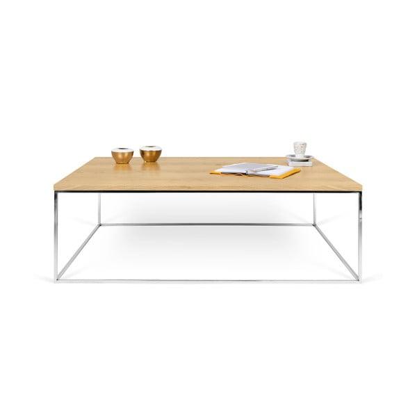 Konferenčný stolík s chrómovými nohami TemaHome Gleam, 120cm