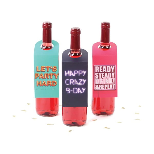 Štítky na víno Party