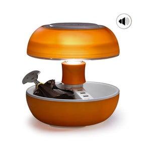 Stolná lampa, nabíjačka a reproduktor v jednom Joyo Light, oranžová