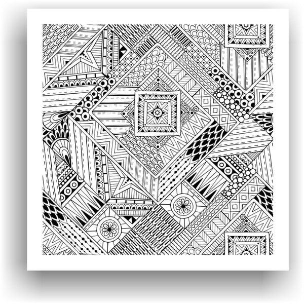 Obraz na vymaľovanie Color It no. 66, 50x50 cm