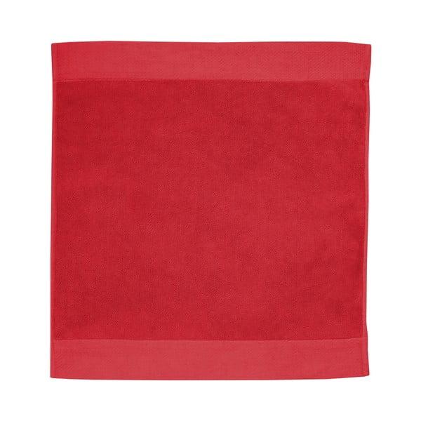 Červená kúpeľňová predložka Seahorse Pure, 50 x 60 cm