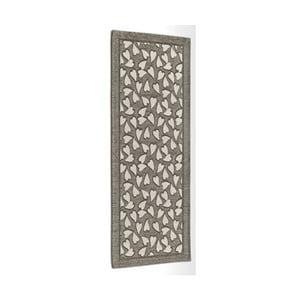 Sivo-hnedý vysokoodolný kuchynský koberec Webtapetti Corazon Fango, 55 x 115 cm