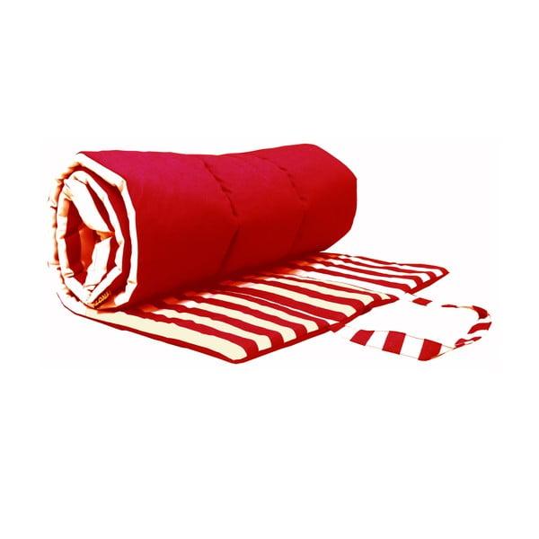 Skladacia deka na piknik alebo opaľovanie Lona, červená