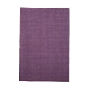Fialový jutový koberec vhodný do exteriéru Native, 240 × 150 cm