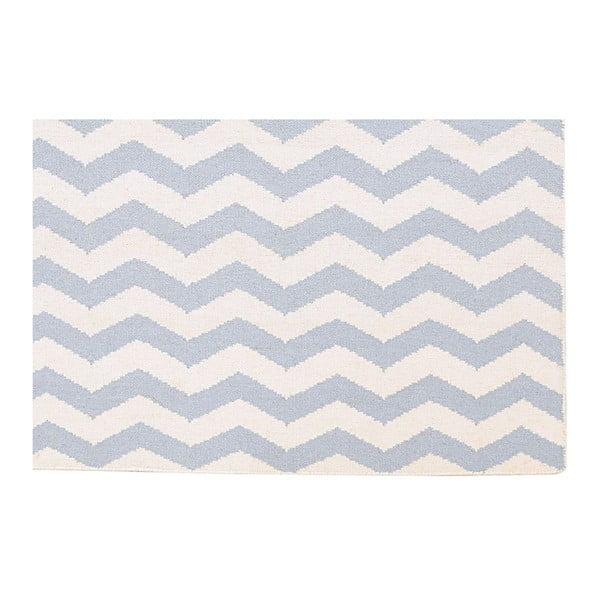 Vlnený koberec Kilim JP 18 Blue, 120x180 cm