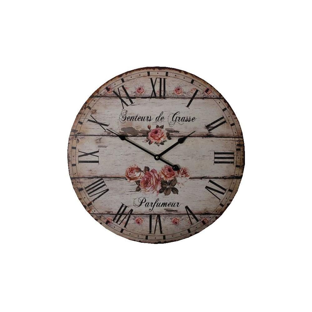 Nástenné hodiny Antic Line Parfumeur