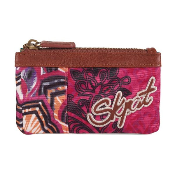 Pestrofarebná peňaženka SKPA-T, 14 x 7 cm