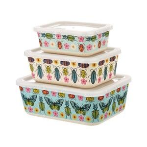 Sada 3 obedových boxov s motívmi motýľov Sass & Belle Butterflies
