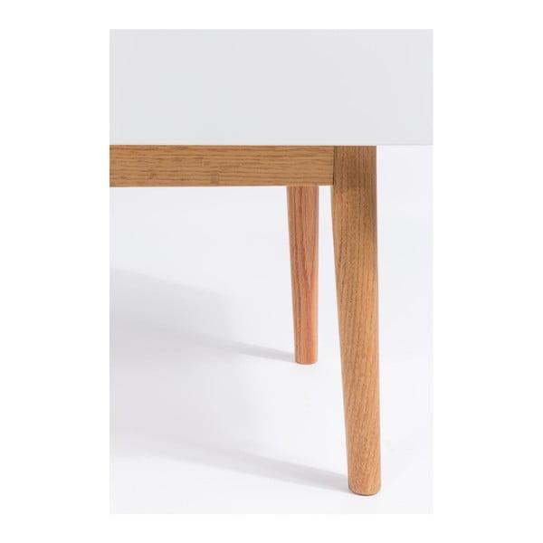 Biela komoda Zuiver High On Wood 2x0