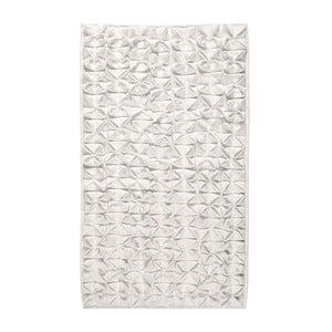 Kúpeľňová predložka Origami Ivory, 60x100 cm