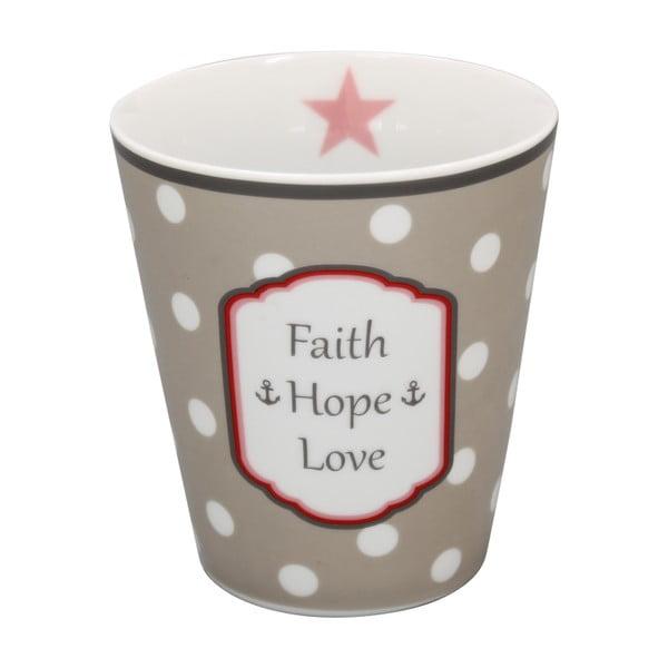 Hrnček Krasilnikoff Faith Hope Love