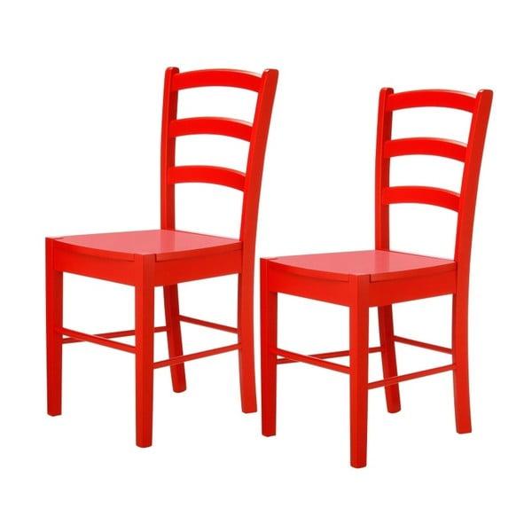 Sada 2 červených stoličiek Støraa Trento Quer