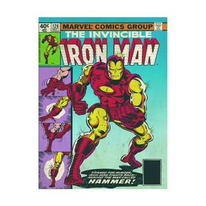 Obraz Pyramid International Iron Man Hammer, 60 × 80 cm