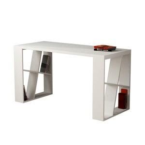 Pracovný stôl Honey, biely