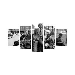 Viacdielny obraz Black&White no. 47, 100x50 cm