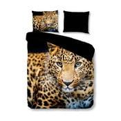Obliečky na jednolôžko Pure Wild Leopard, 140×200 cm