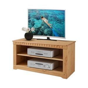 TV stolík z borovicového dreva Støraa Claire