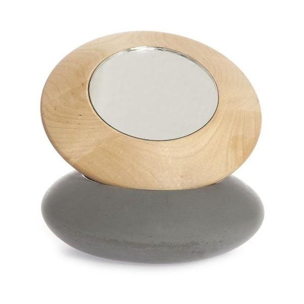 Zrkadielko z brezového dreva Iris Hantverk