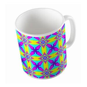 Keramický hrnček Neon Kaleidoscop, 330 ml