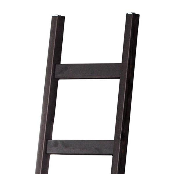 Tmavohnedý dekoratívny rebrík z borovicového dreva Støraa Annabelle