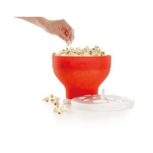 Oranžová silikónová miska na prípravu popcornu Lékué Popcorn