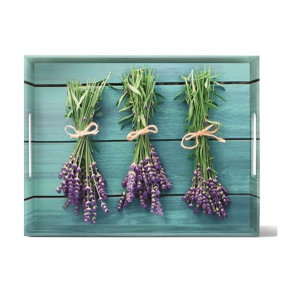 Podnos Classic Lavender, 40x31 cm
