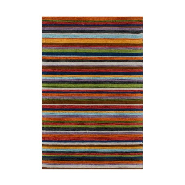 Vlnený koberec Wimbledon, 170x240cm, prúžkovaný