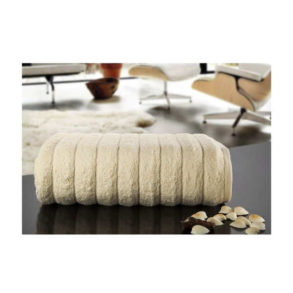 Osuška Dalga Cream, 100x150 cm