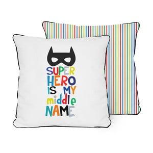 Obojstranný vankúš Little Nice Things Superhero