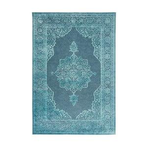 Modrý koberec Mint Rugs Shine Hurro, 120 × 170 cm
