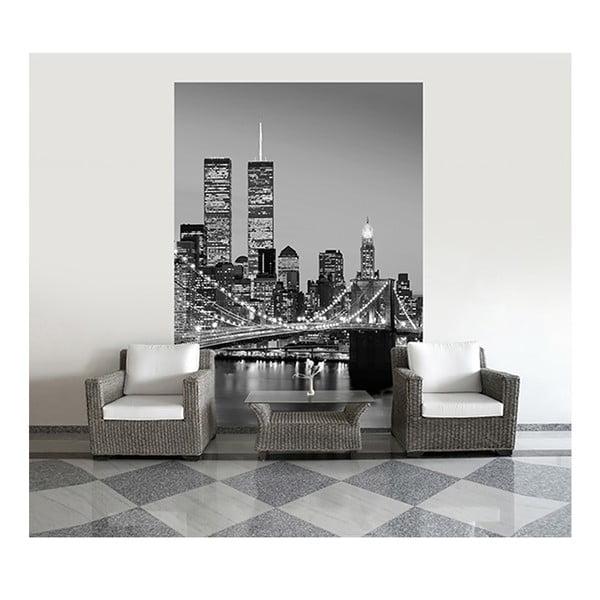 Veľkoformátová tapeta Manhattan Skyline, 183x254 cm