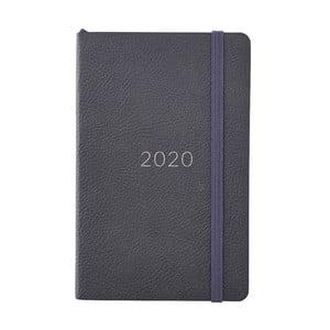 Čierny diár na rok 2020 Busy B Classics, 144 strán
