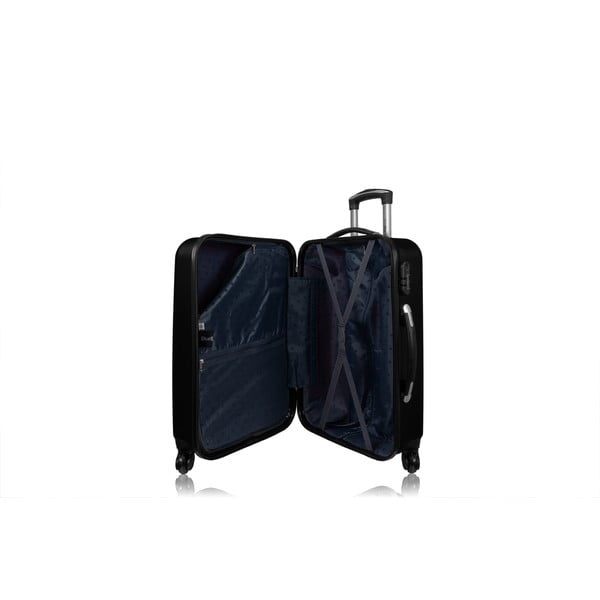 Sada 3 kufrov Brand Developpement Roues Cadenas Dark, 105 l/72 l/40 l