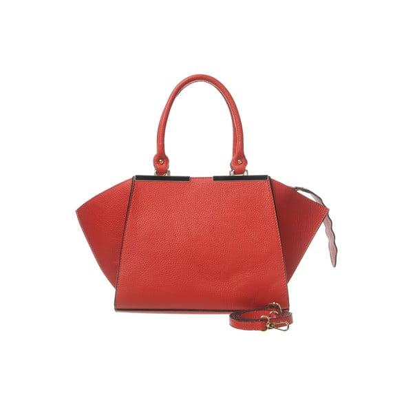 Kožená kabelka Fashion Leather Red
