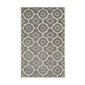 Ručne vyšívaný koberec Alexa, 121x182 cm