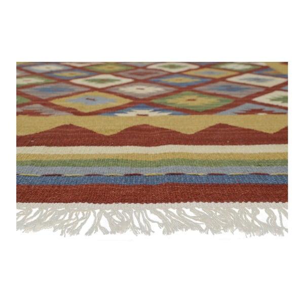 Ručne tkaný koberec Bakero Kilim Classic K14 Red, 125 x 185 cm