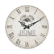 Svetlé nástenné hodiny Premier Housewares Home Sweet Home