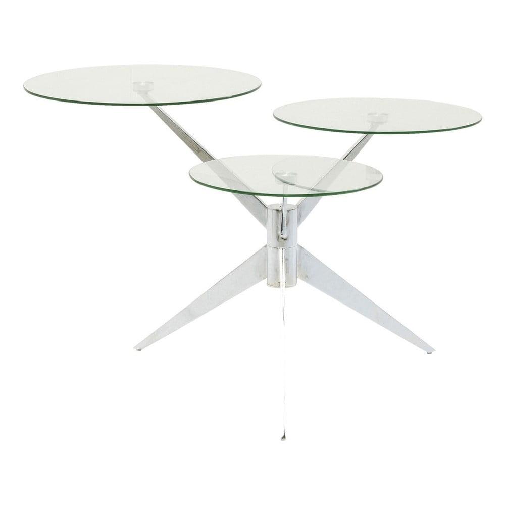 Odkladací stolík Kare Design Bonsai Tre Chrome