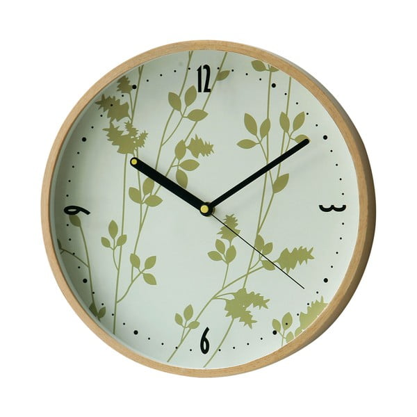 Nástenné hodiny Leaf, 31 cm