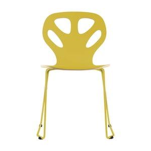 Stolička Maple, žltá