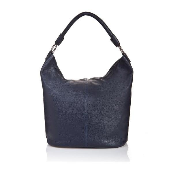 Kožená kabelka Massimo Castelli 5143 Blue